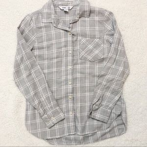 Old Navy comfy gray flannel